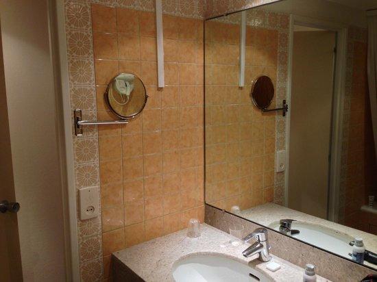 Mercure Paris Orly Rungis Hotel: Salle de bain hors d'âge