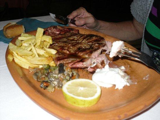 Meson Restaurante la Cantina: Lende vom Grill