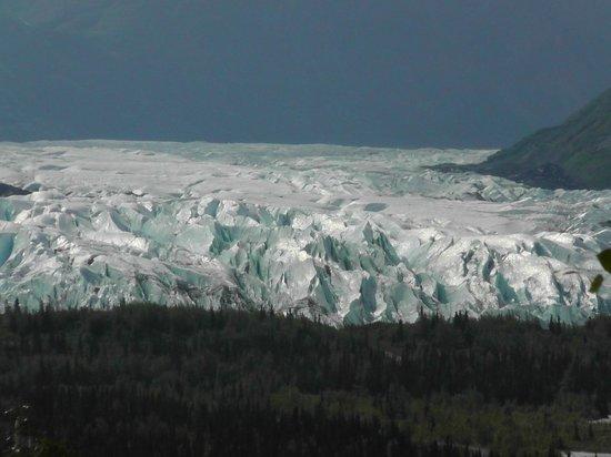 Alaska Railroad: Vista de Glaciar