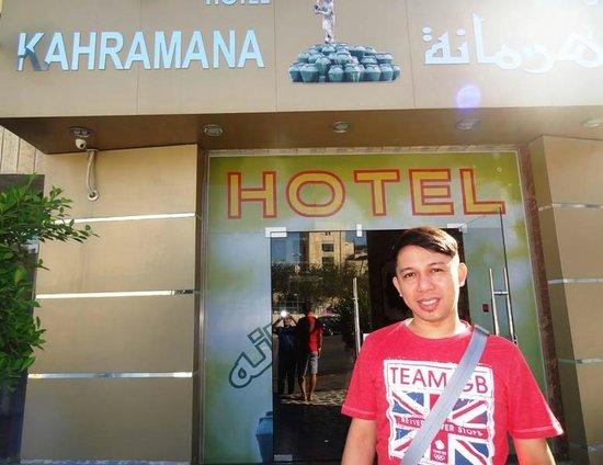 Kahramana Hotel : My friend @ Hotel's Facade