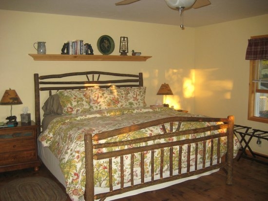 Hopewell Bed & Breakfast: Bed!