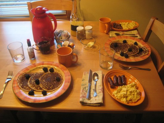 Hopewell Bed & Breakfast: Breakfast!