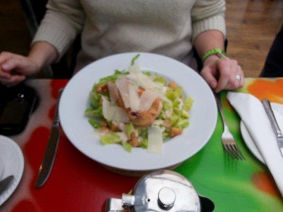 The Pier Bistro: Chicken Caesar Salad, very fresh