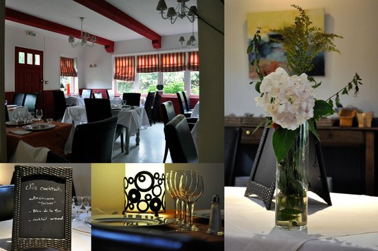 Hostellerie de la Vieille Ferme : Salles de restaurant de la Vieille Ferme