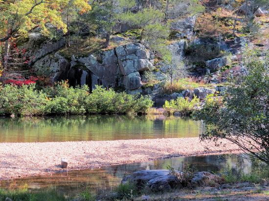 Rocky Falls Shut-in: Fall Colors Coming On At Rocky Falls