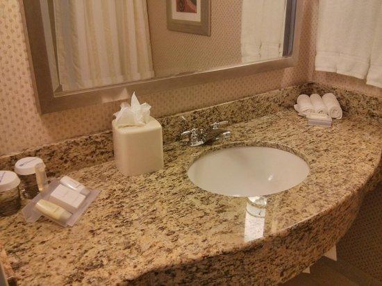 Hilton Garden Inn Arlington/Shirlington: bathroom