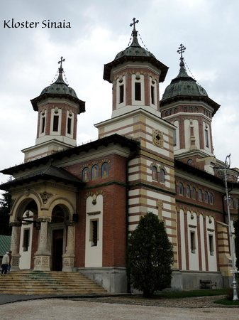 Sinaia Monastery: Kloster Sinaia