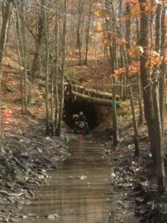 The Lost Trails ATV Adventures: Entrance to The Tunnel