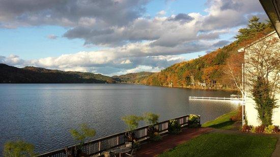 Lake Morey Resort : From lounge balcony.