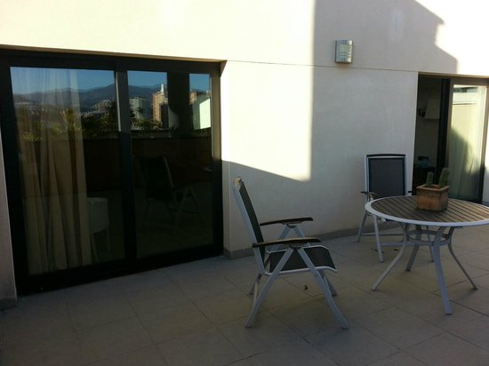 Sercotel Malaga: Terrace