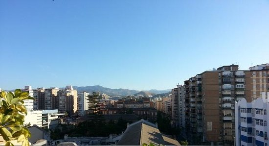 Sercotel Malaga: View from the Terrace