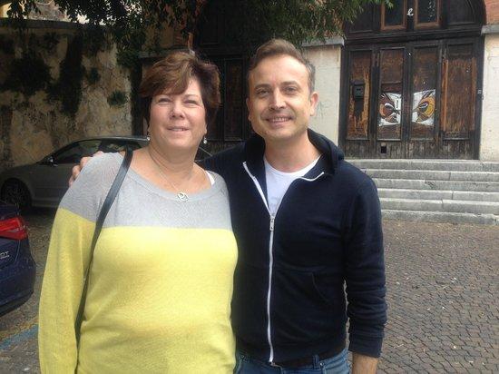 B&B Santo Stefano : With Luca