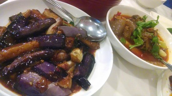 Mala Sichuan Bistro: Spicy Eggplany & Duck Stew