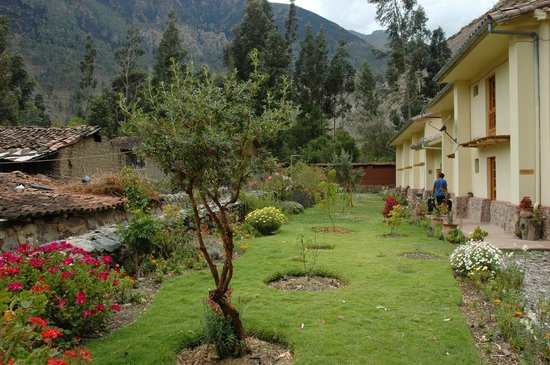 Apu Lodge : Peaceful courtyard