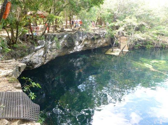 Cenote Ponderosa: Una parte del cenote