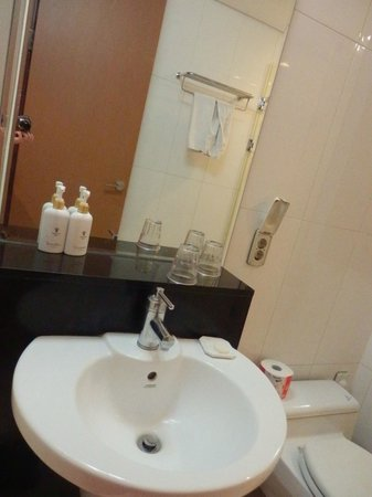 Vabien Suites II Serviced Residence : I really did not like this bathroom and leaky toilet