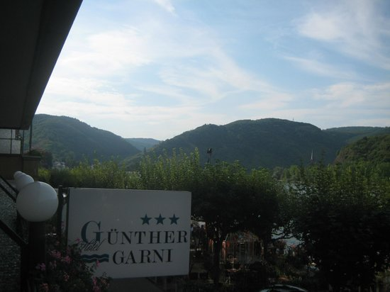 Hotel Günther Garni: View from the room