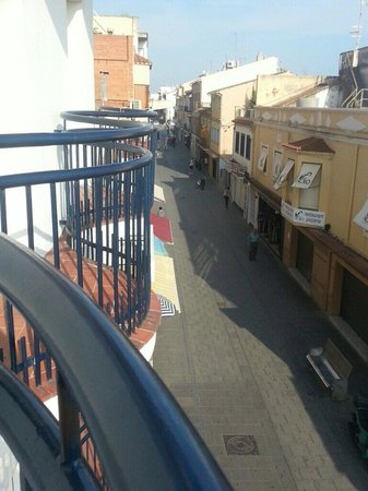 Aparthotel Iris: Du balcon