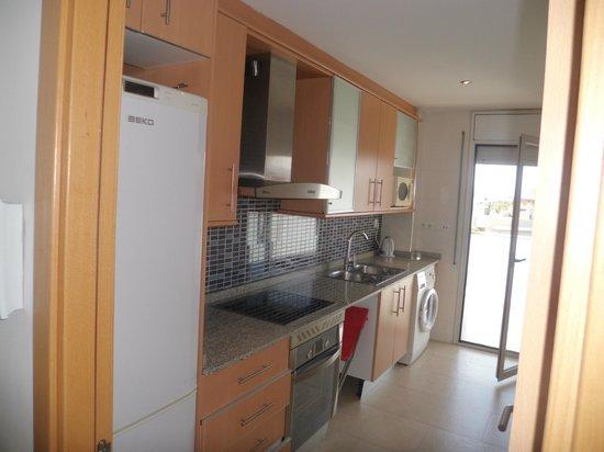 Ibersol Spa Aqquaria: cocina