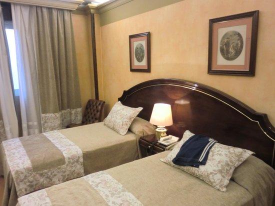 Hotel M.A. Princesa Ana: notre chambre