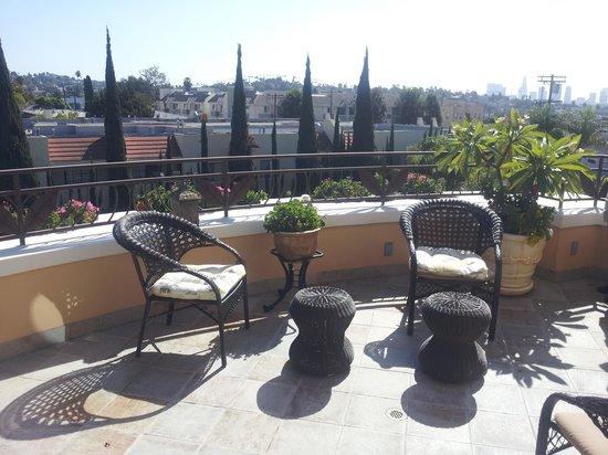 Hollywood Hotel : Balcony