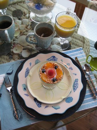 A Lighthouse on Hammersley Bed and Breakfast : Breakfast - first course
