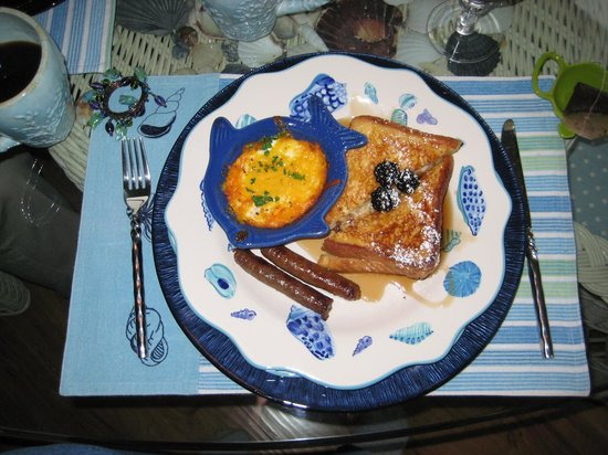 A Lighthouse on Hammersley Bed and Breakfast : Breakfast - second course