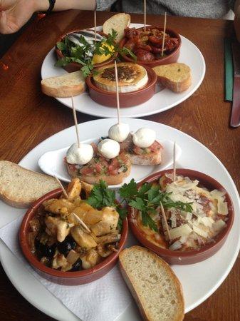 Cafe Bahia: Delicious tapas