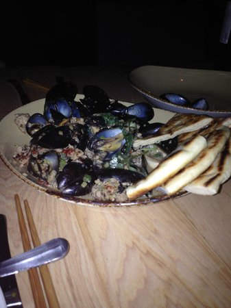 Soba Lounge: Blue Bay Mussels