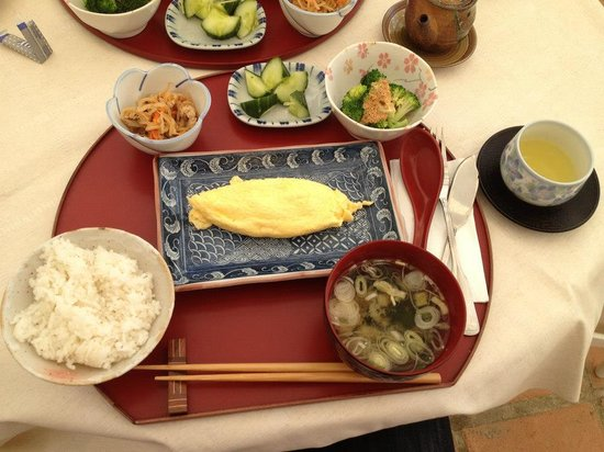 Hotel La Luna Blanca: Amazing Japanese breakfast! I went for egg, my girlfriend had the fish - which she loved.