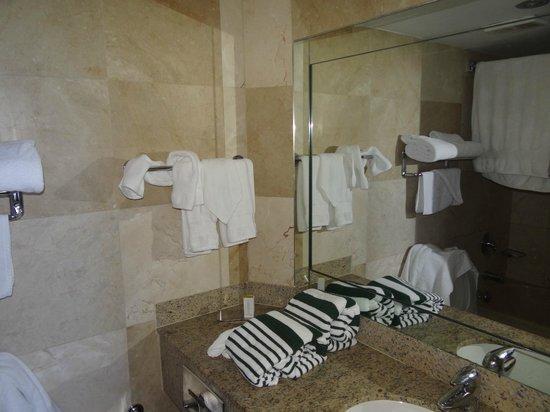 Doubletree by Hilton Grand Hotel Biscayne Bay: Baño habitación