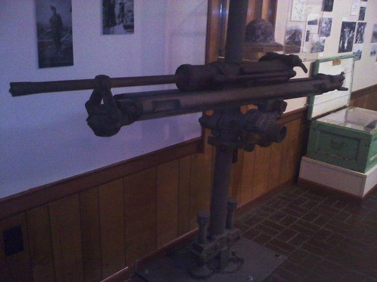 Ducktown Basin Museum: Air powered drill in museum