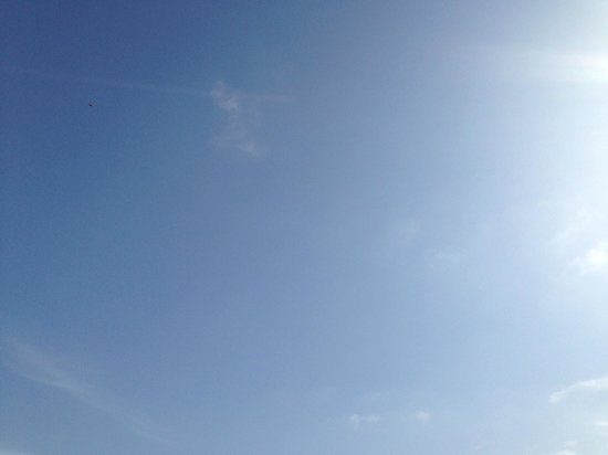 Alinn Sarigerme Boutique Hotel: clear sky in october