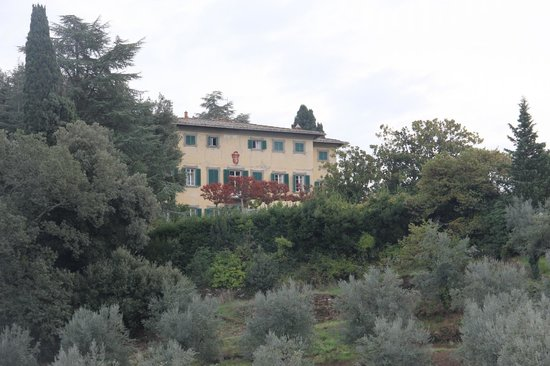 View of Petrolo main Villa