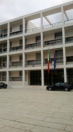 Ex Casa del Fascio: la facciata