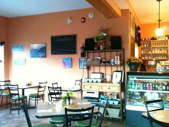 Bayside Bed & Breakfast: 人気のカフェを朝から貸切り