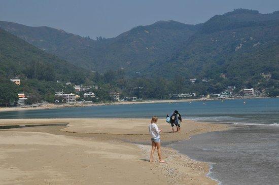 Silvermine Beach Resort : Пляж у отеля