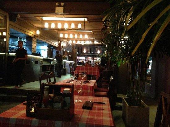 The Seaside steakhouse : The Seaside Restaurant