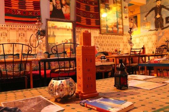 Hostel Waka Waka, Marrakech : the decore is good