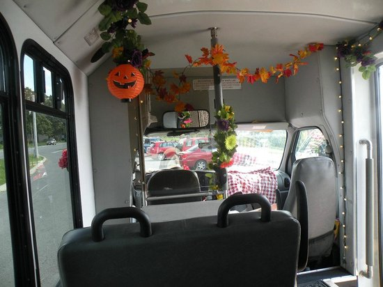 City Taste Tours : Halloween/Fall decorated Tour Bus