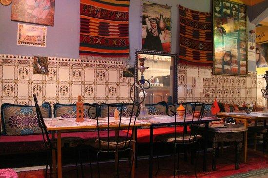 Hostel Waka Waka, Marrakech : the dining room
