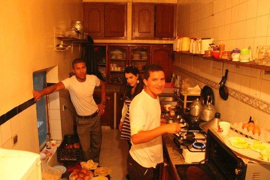 Hostel Waka Waka, Marrakech : the staffs are very nice