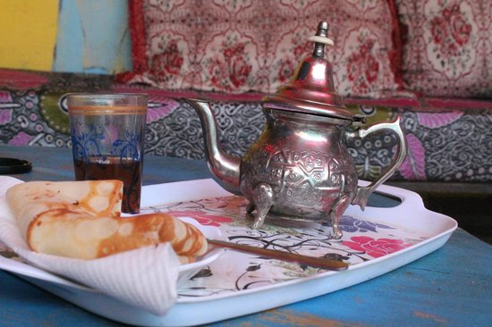 Hostel Waka Waka, Marrakech : the mint tea