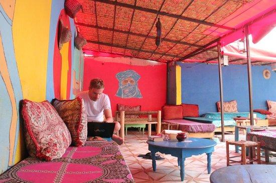 Hostel Waka Waka, Marrakech : the rooftop