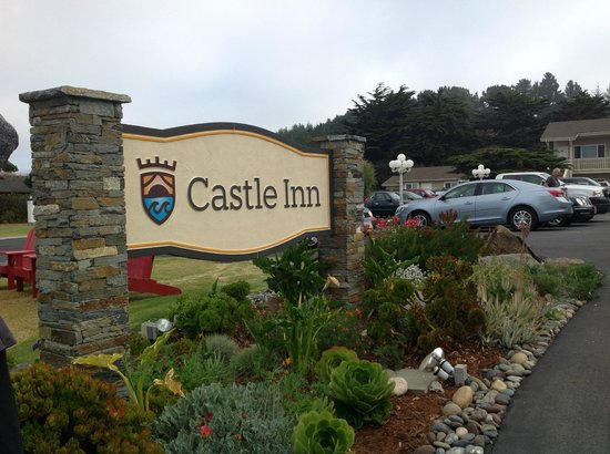 Castle Inn : sign