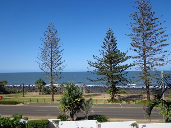 C Bargara Resort: the view from 4th floor apartment