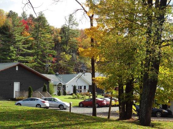 Northern Lights Lodge: Back of Lodge