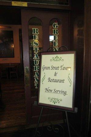 Green Street Tavern: The door you enter inside the SotoHouse