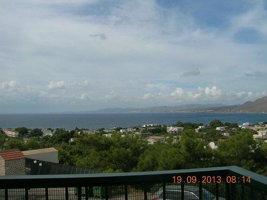 Pefkos Beach Hotel: View from Balcony