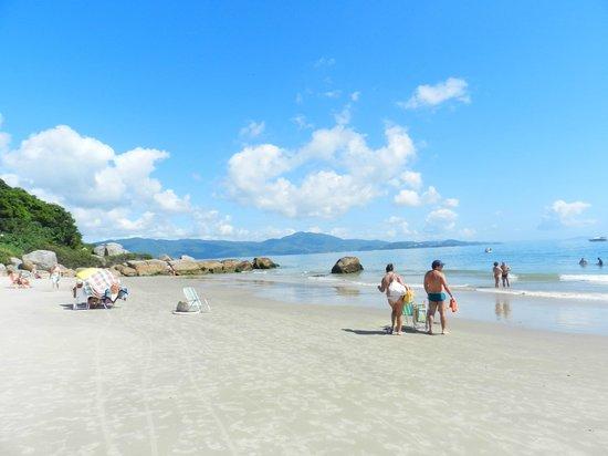 Forte Beach: Daniela al fondo vista desde Forte